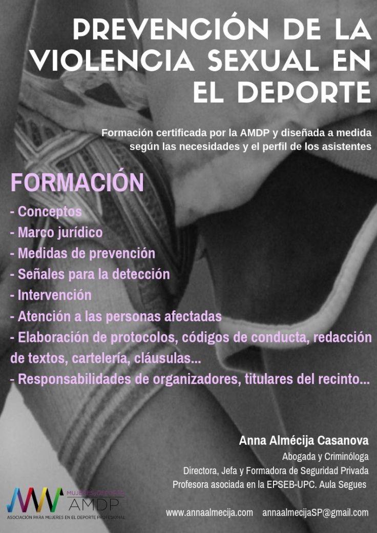 AMPD- FORMACIÓN PREVENCIÓN SEXUAL DEPORTE