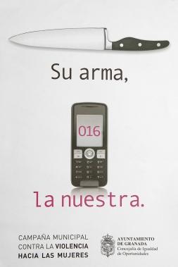 Cartel municipal que apela contra la violencia hacia las mujeres.jpg
