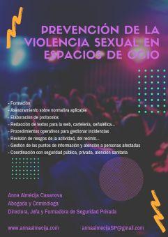 PREVENCIÓN DE LA VIOLENCIA EN ESPACIOS DE OCIO